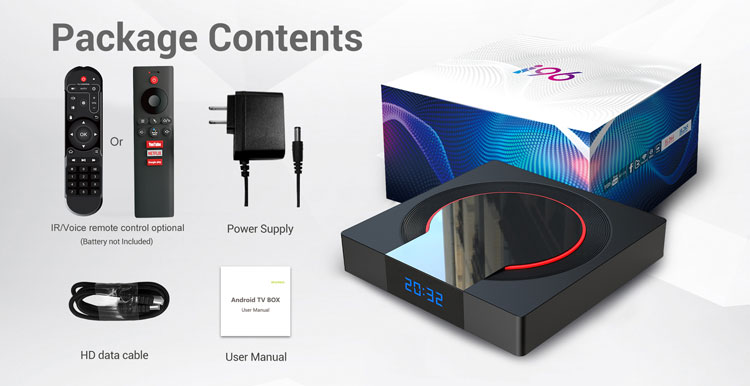 2019 Chinese factory Topleo i96 pro 4GB 32GB Amlogic S905X3 8k tv box 64 bits oem tv box android