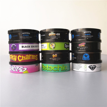 Cali pressitin Tin can 73.3*24mm Tuna Tins + Stickers! Cali Medical Stardawg Tubs Custom LabelsWeed Pressitin Aluminum Cans