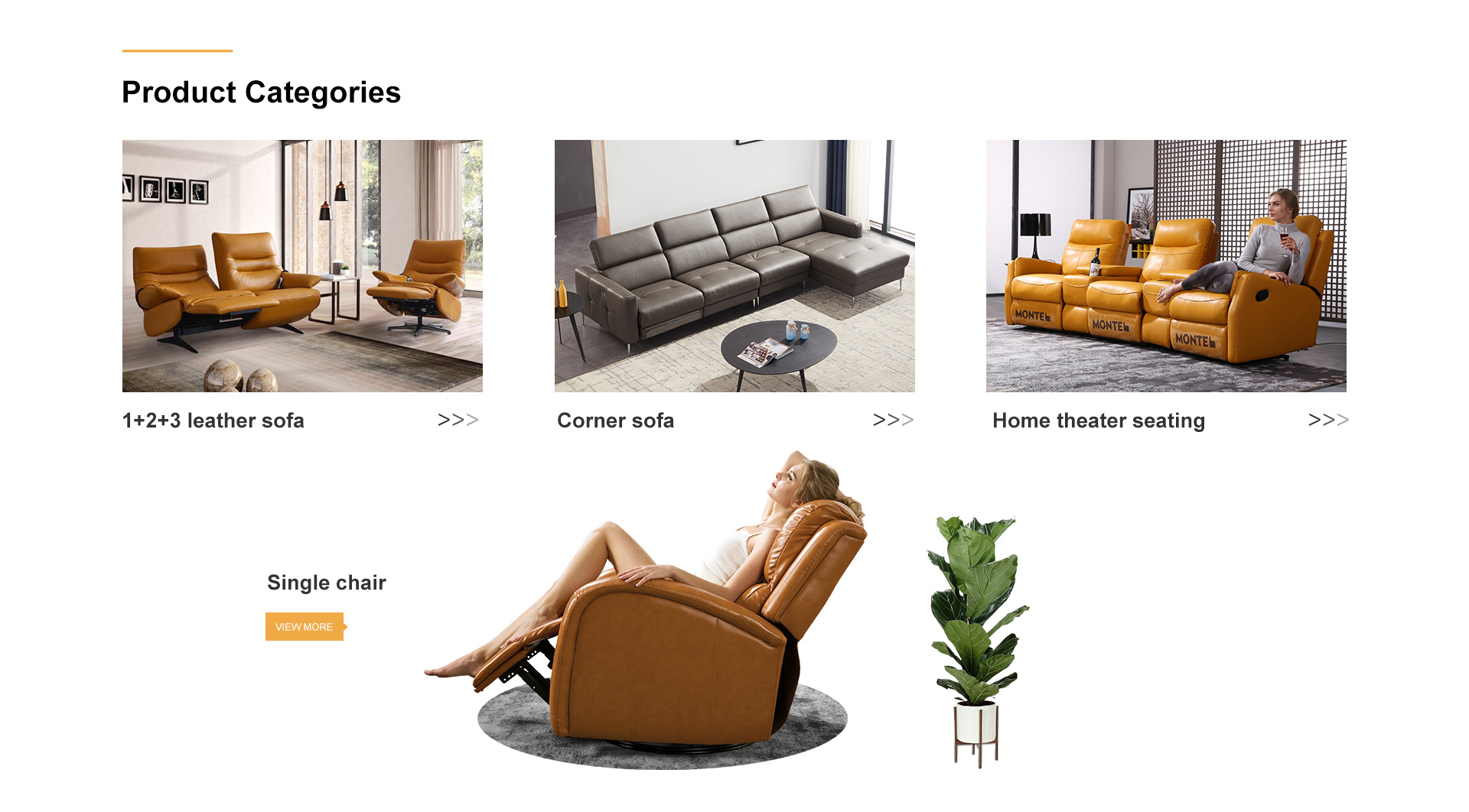 Hoekbank Leer Montel.Foshan Shunde Montel Furniture Co Ltd Sofa Leather Sofa