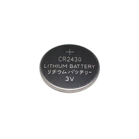 Lithium 3 volts coin batteries CR2450 CR 2477 CR2430 with solder tabs