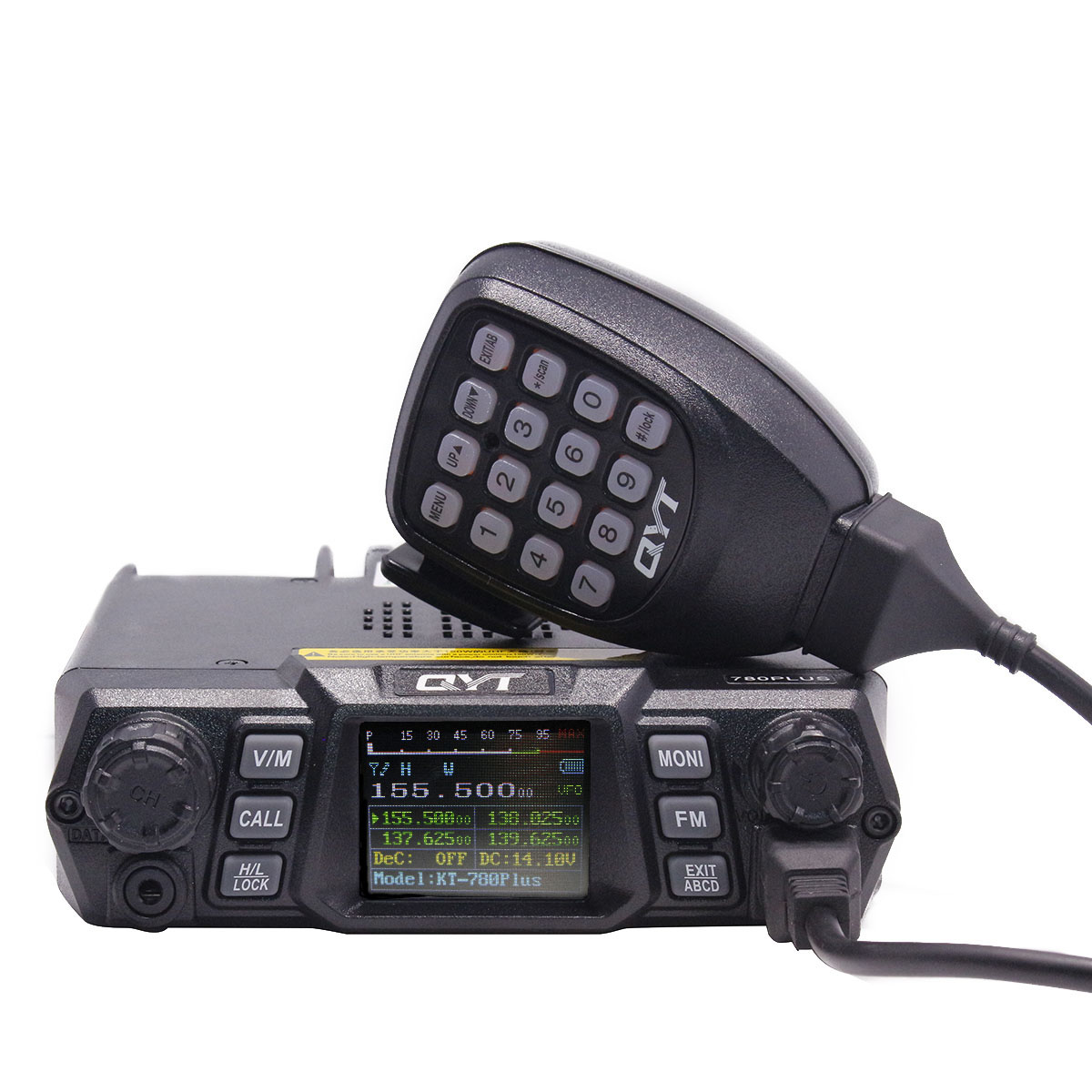QYT KT-780 Plus 100 Watts Powerful VHF 136-174mhz Ham Mobile Radio Transceiver 200channels Long range <strong>communication</strong> KT 780 Plus