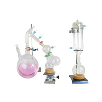 ABTSPD-05A Short Path Essential Oil Extraction Equipment Glass Distillation Column