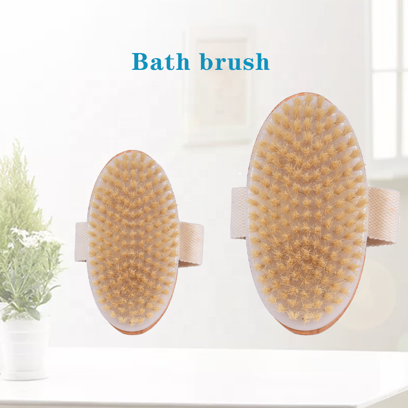 wholesale high quality wooden body brush for women