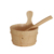 JOYEE Factory direct price wooden sand timer bucket bath set for sale