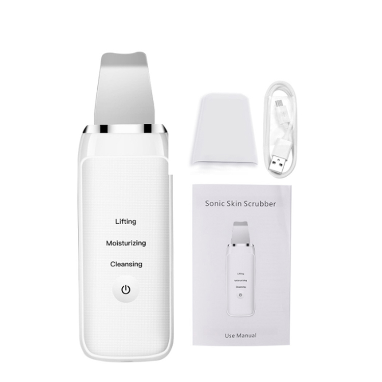 Facial Spatula Machine Face Ultrasonic Skin Scrubber