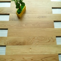 Guangzhou factory low price white oak parquet flooring
