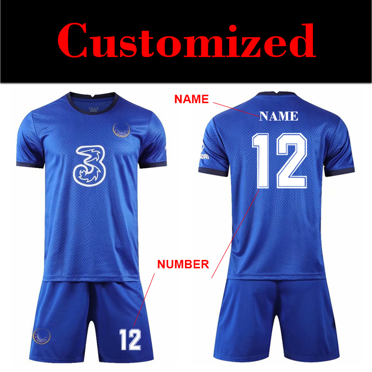 Wholesale 2020 2021 manchesters united soccer jersey kits football thai quality