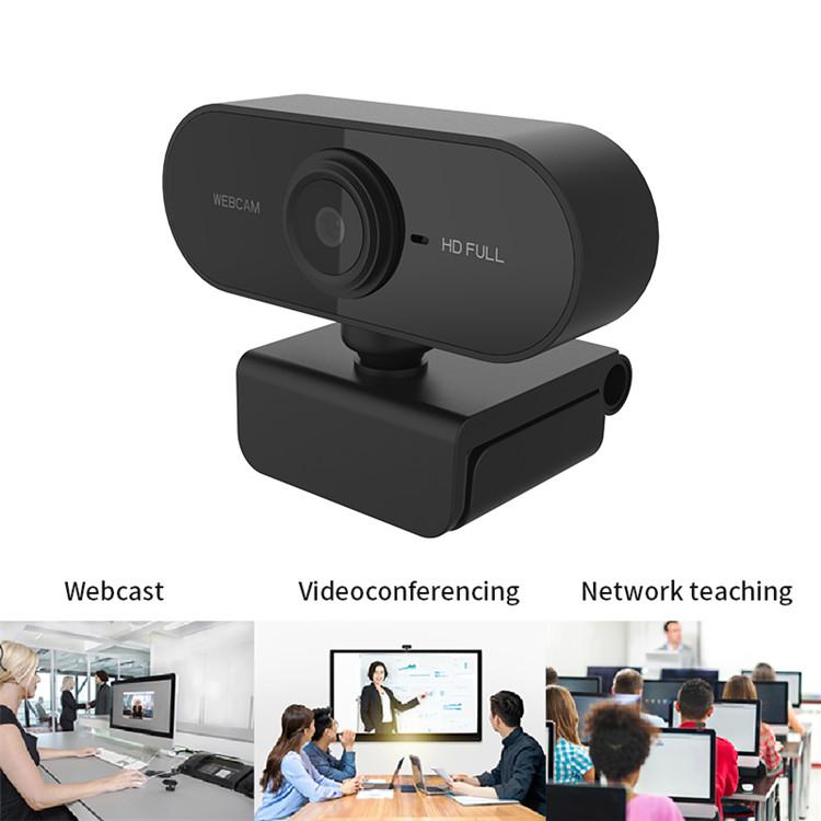 새로운 디자인 1080P HD 웹캠 카메라 PC 컴퓨터 webcameras USB 드라이버없는 웹캠 마이크 라이브 스트리밍 데스크탑