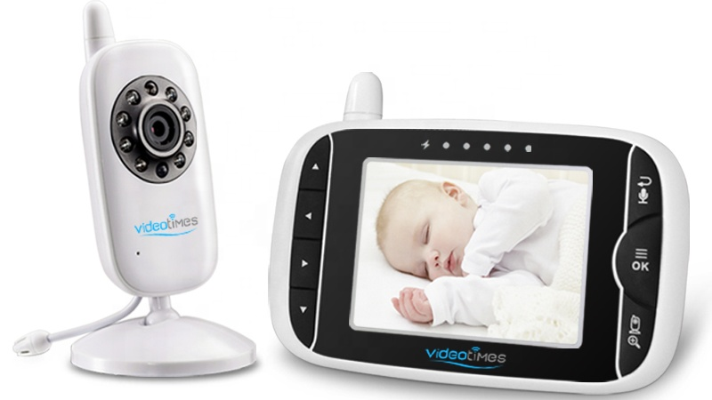 3.2 Inch Wireless Portable Video Baby Camera with Infrared Night Vision baby monitor