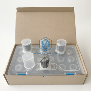CNC Machine Tools ER25 Collet sets with plastic box