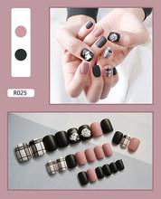 Новинка накладные ногти готовой исскуство ногати наклейки пригодно для ногтей наклейки износостойкие водонепроницаемый 24 в штучной упако...(Китай)