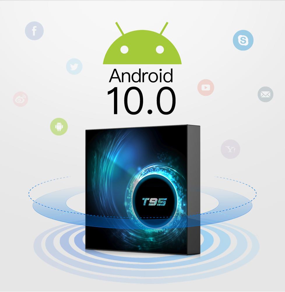 2020 Tanix T95 H616 4 + 32GB טלוויזיה תיבת עם אליס UI Allwinner H616 אנדרואיד 10.0 Quad core 8K טלוויזיה חכם TX5