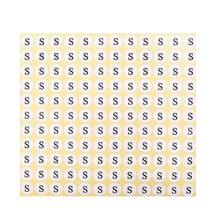 1,3 см размер бумажная наклейка этикетки для одежды Размер клейкая печатная бирка для одежды бирка Размер печатная бирка с задней палкой(Китай)