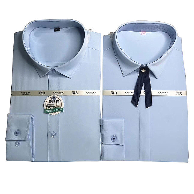 방글라데시 의류 셔츠 남성 쉬폰 드레스 셔츠