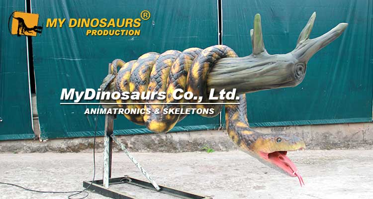 MY Dino AAS029 Animatronic Realistic Lifesize Snake for Sale