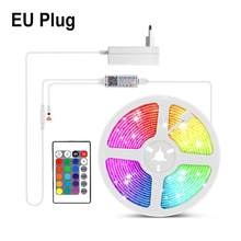 Светодиодная лента Tuya Smart Life DC12V RGB, Wi-Fi, управление голосом, 5 м, 10 м, 15 м, светодиодный светильник, совместимый с Amazon Alexa Echo/Google Home(Китай)
