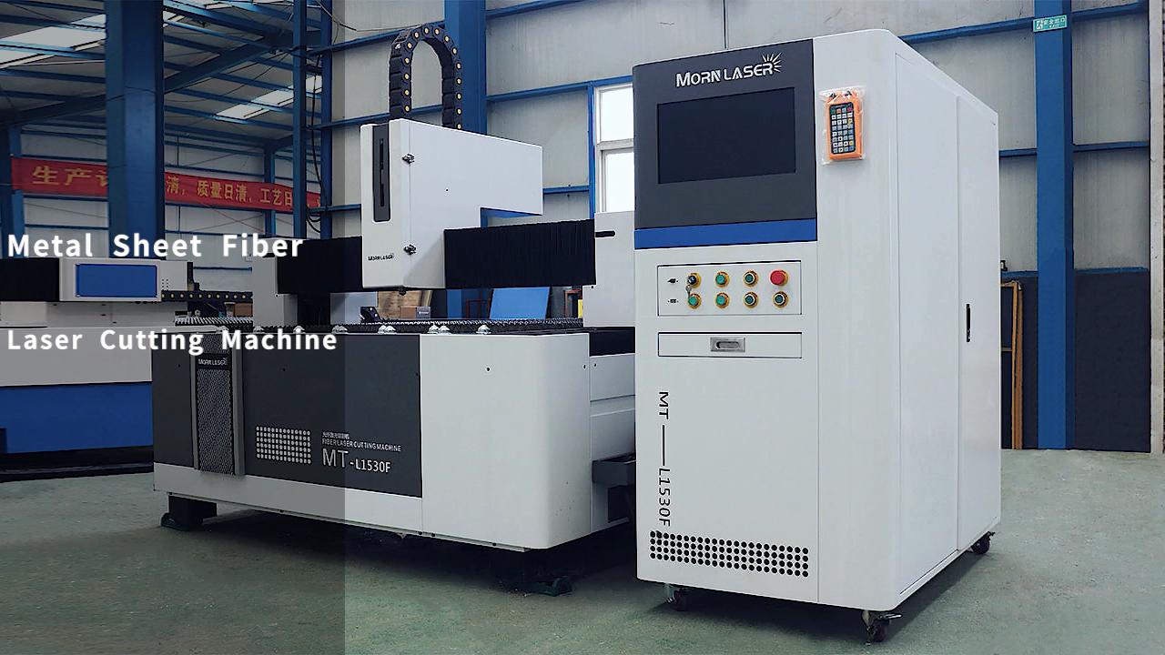 MORN 1000w 1500w 2000w 3000w 6000 aluminum stainless steel cnc metal sheet fiber laser cutting machine for sheet metal