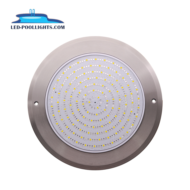 Private mode 8mm thickness 18W 12V RGBW Pool lamp 316 stainless steel IP68 LED underwater light