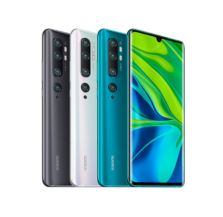 New Arrival Xiaomi Mi Note 10 Phone 8+128G, Mi Note 10 Mobile Phone, Mi Note 10 Phone 108MP in Global Version