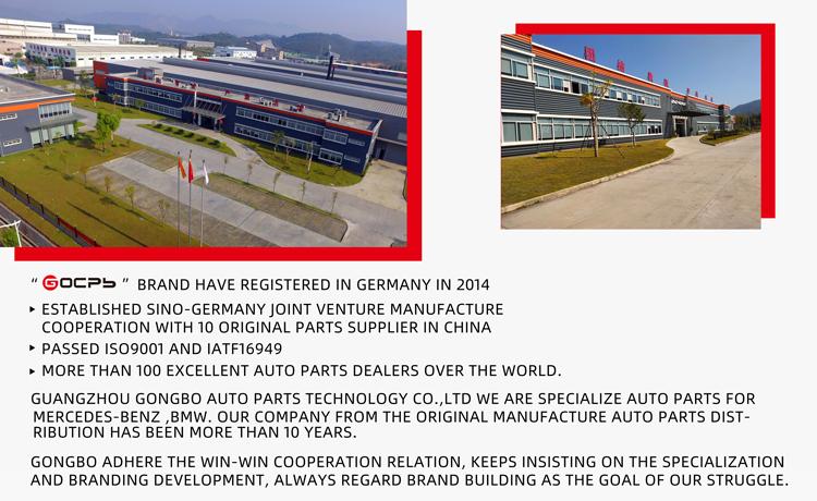 Gocpb ricambi auto Ventola di Raffreddamento Del Radiatore per Mercedes W169 W245 1698203542 / 169 820 35 42