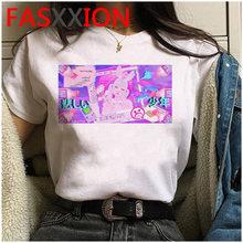 Женская футболка vaporwave, летняя футболка большого размера плюс, эстетическая футболка гранж с рисунком в Корейском стиле(China)
