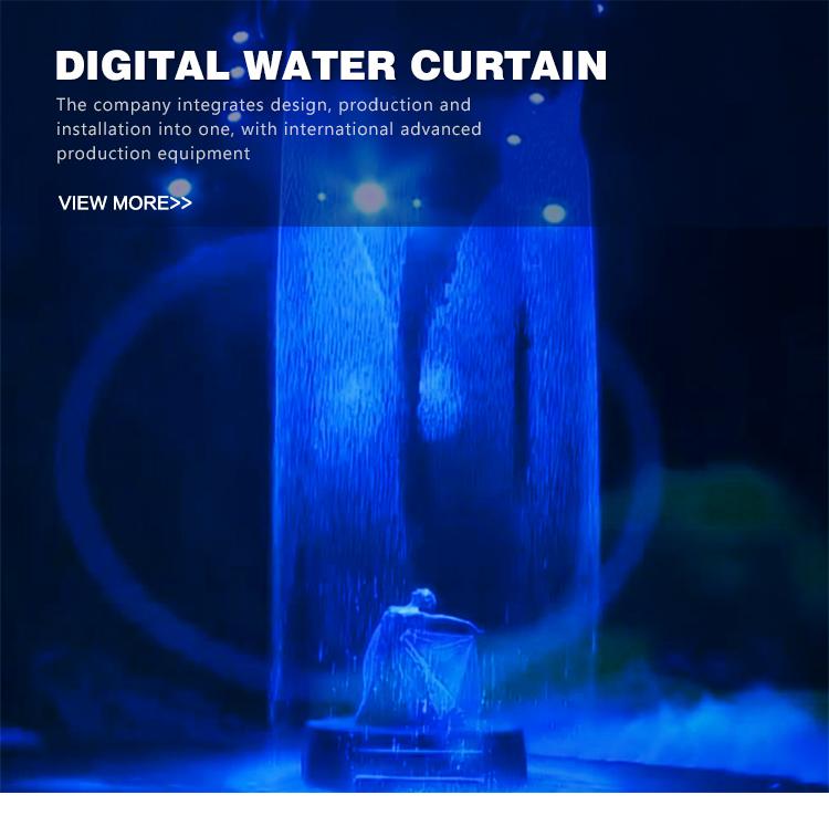 Handel Assurance Hersteller Liefern Die Intelligente Digitale Wasser Vorhang Der Kleinen Wasserfall Brunnen