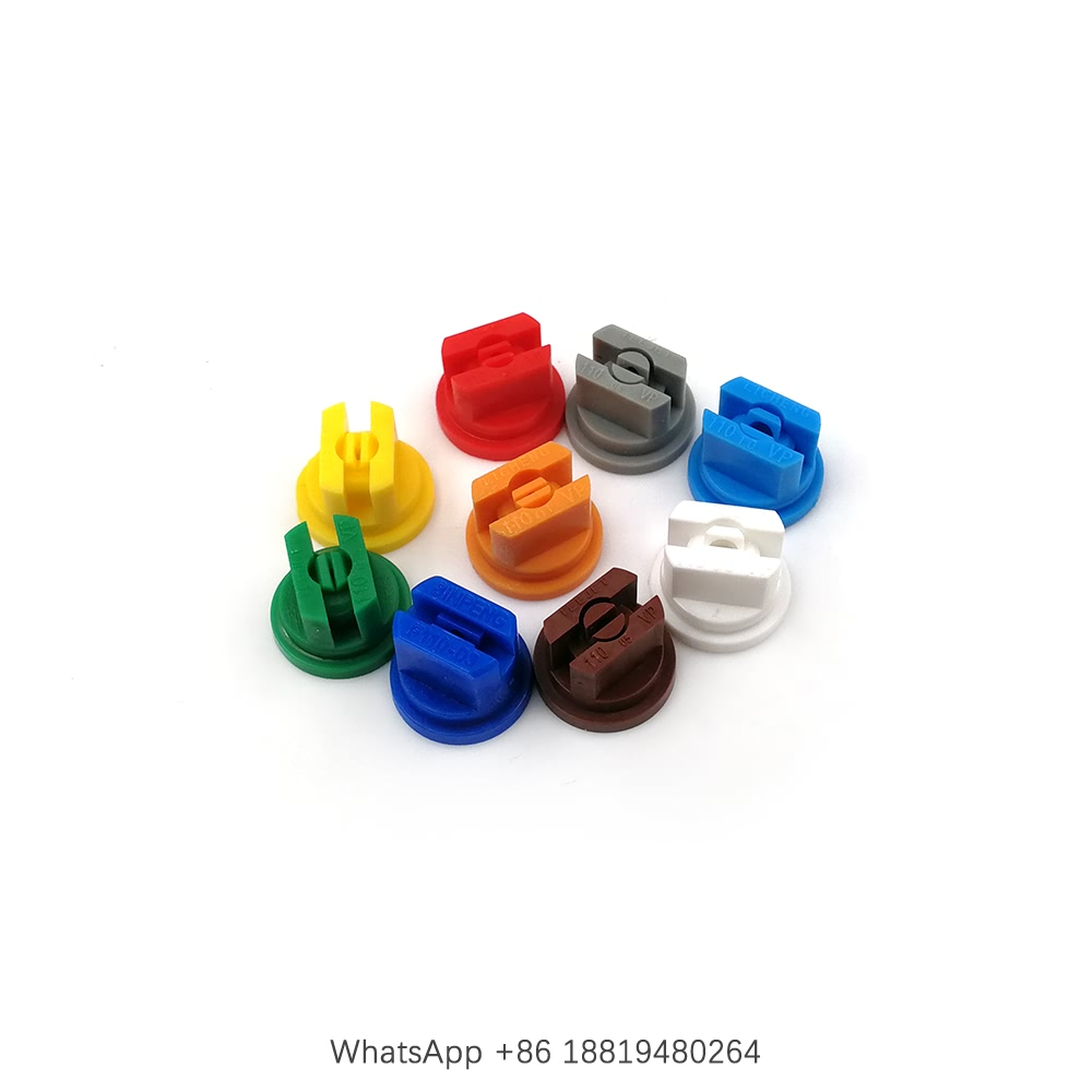 Superior Product YS Plastic Flat Fan Nozzle Tip, Agricultural Boom Sprayer Nozzle Tip, TP Nozzle Tip