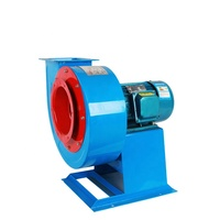 CF-11 Induced Draft Fan / Forced Draft Fan Industrial Blowers High Pressure Hot Air Blower