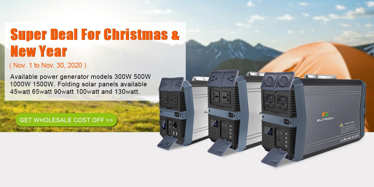 Shenzhen Sungzu Technology Co Ltd Portable Power Station Solar Generator