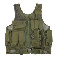 Многофункциональный комбинированный жилет LTOHEYN, камуфляжный жилет CS, тактический жилет в стиле милитари, легкий сетчатый жилет(Китай)