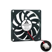 Вентилятор 8010 5 в 12 В 24 в 80x80x10 мм, Бесщеточный вентилятор охлаждения, компьютерная система процессора, радиатор, блок питания, USB вентилятор о...(China)