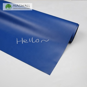 Magwall dark blue customization high quality magnetic soft colored writing board magnetic blackboard wall sticker