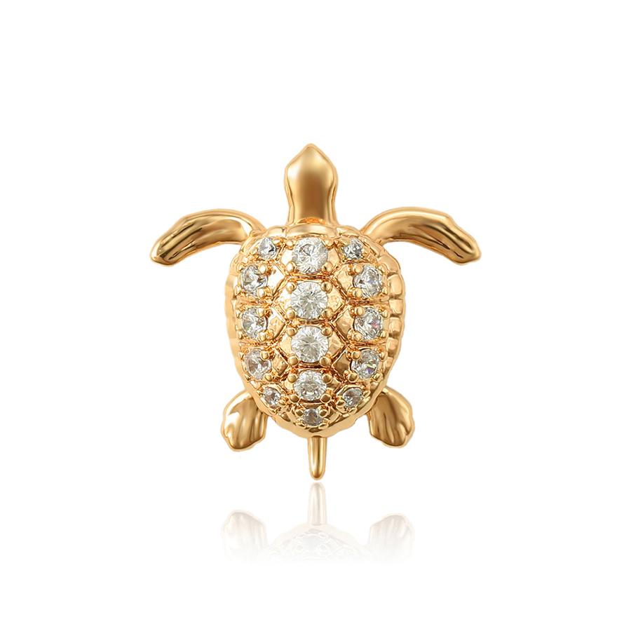 34426 Xuping Jewelry custom pendant, Fashion Charm 18K Gold Plated tortoise Pendant With Animal Shape