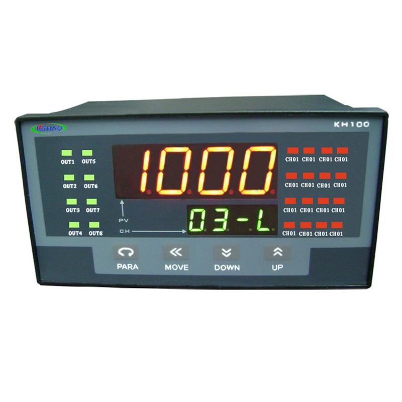 45 filtres h105 — indicateur de température, multi-canaux, avec 4-20mA
