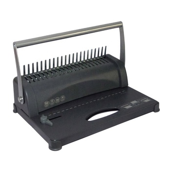Office desktop easy use A4 size paper 320 sheets perfect hand manual spiral comb binding machine