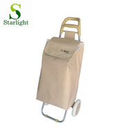 with logo shopping trolley bag durable shopping cart