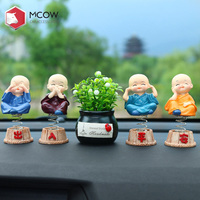 Mcow Car Decoration Accessories New Arrival Classical Car Interior Accessories Chinese Doll