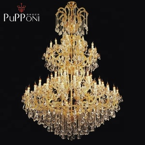Lamadari Contemporary Big Maria Theresa Crystal Chandelier Luxury