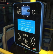 Android systeem <span class=keywords><strong>Bus</strong></span> <span class=keywords><strong>Validator</strong></span> voor outdoor Openbare Vervoer Cashless Ticketing en Onbaord Smart nfc Card Betaling