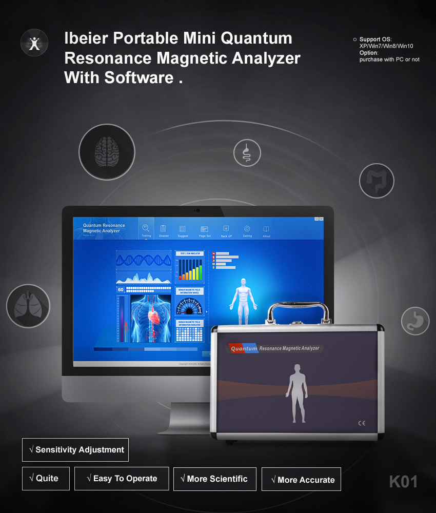 Human Body Condition Organ Scanner Quantum Magnetic Resonance Body Analyzer  - Buy Quantum Magnetic Resonance Body Analyzer,Security Body Scanner,Human