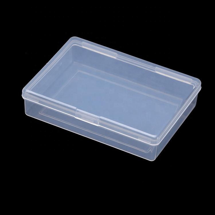 عالية الجودة من البلاستيك قالب حقن منظم بطاقات صندوق التعبئة والتغليف شعار مخصص