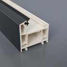 pvc-u perfiles de ventana blanco Color de madera upvc profiles of window white wood color