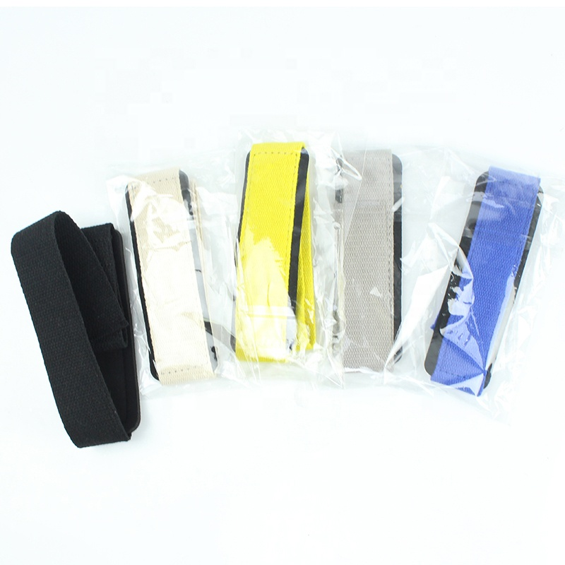Hot Custom Gym Wrist Wraps of Gewichtheffen Bodybuilding Assist Grip Krachttraining Mannen Vrouwen Pols Wraps voor Bodybuilding