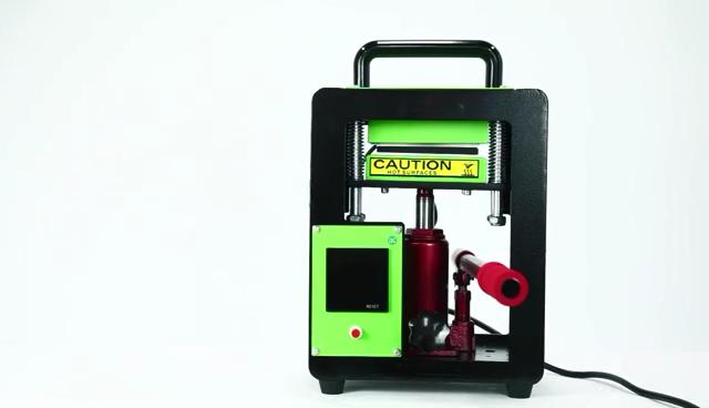 Free Shipping auplex 10 tons Double Sided  rosin dab press machine High Pressure 6cmx12cm manual press rosin
