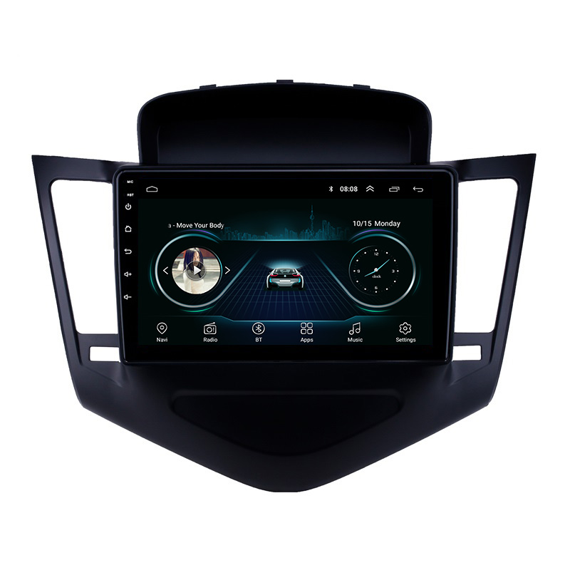 9 polegadas Wifi Bluetooth Android MP5 Player Do Carro para Chevrolet Cruze 2013 2014 2015 Navegador GPS Do Carro