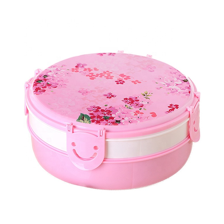 AFTCE176 Food Compartment Container Plastic Snack Box Packaging Dry Fruit Candy Storage