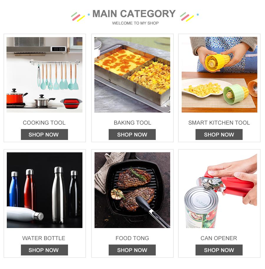 YF 2020 hot selling FDA 8 piece silicone wholesale kitchen utensils cookware silicone kitchen utensils 8 piece set