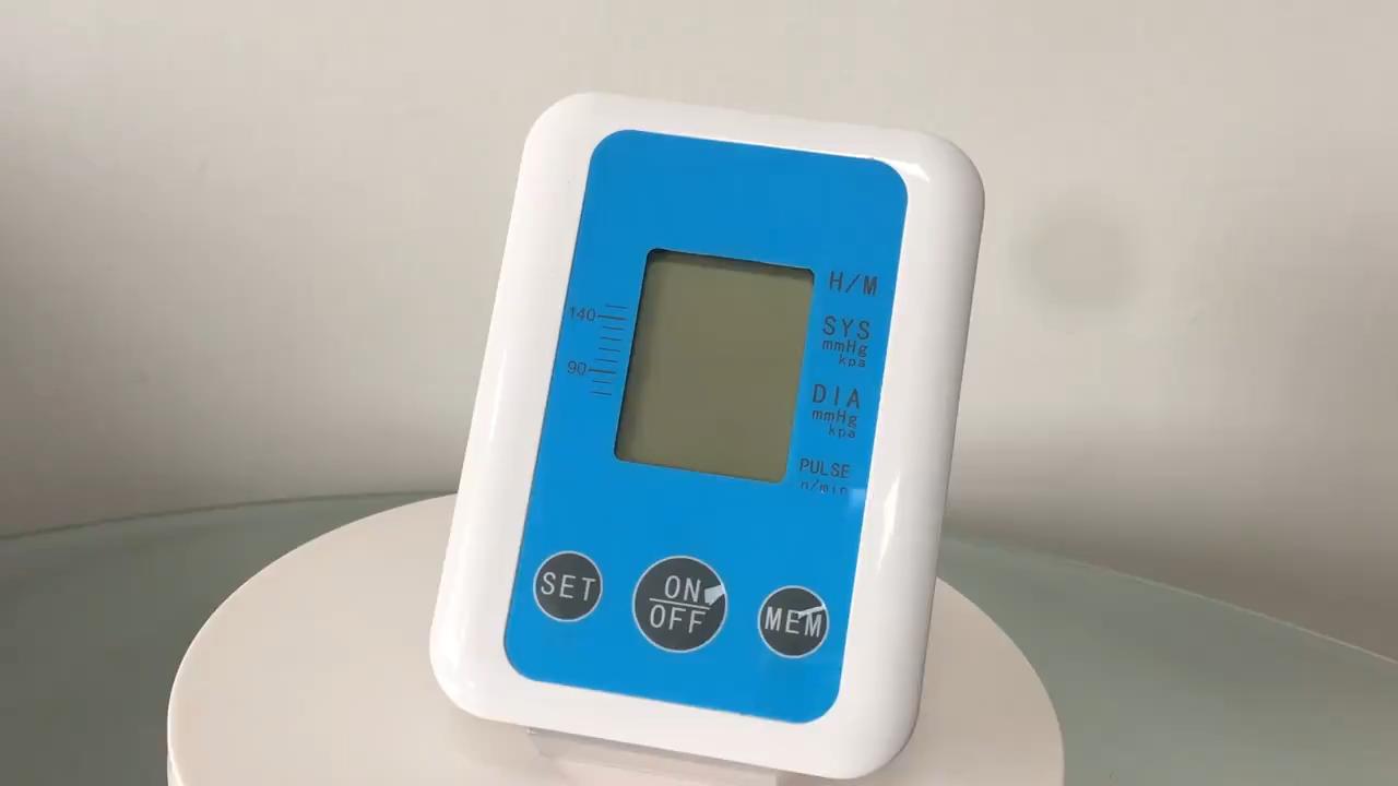 Электронный монитор кровяного давления верхней руки монитор кровяного давления Amazon spot OEM на заказ