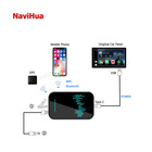 Car Car Video Android NaviHua Smart Car Video Universal Android 9.0 Stereo Apple Carplay AI Box Auto Wireless Carplay Usb Adapter Media For Audi A6