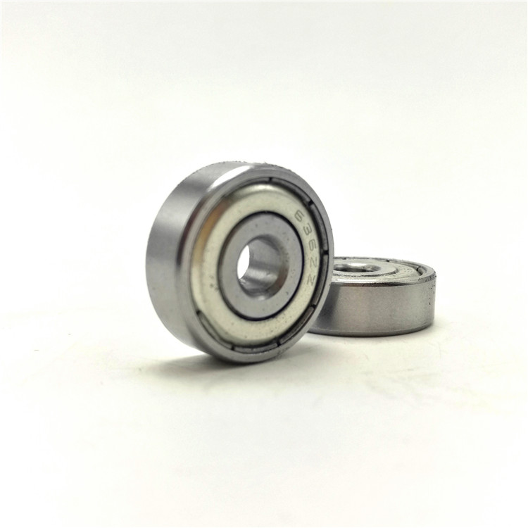 High quality miniature ball bearing 625 ZZ 2 5x16x5 mm deep groove ball bearing 625zz 626zz 608zz